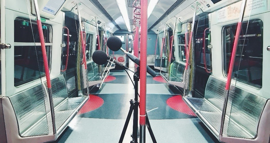 NOISE MEASUREMENT SERVICE INSIDE PASSENGER TRAINS IN MTR NETWORK