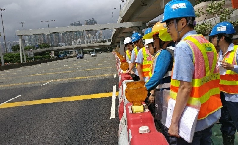 IEC for West Kowloon Road Improvement Works