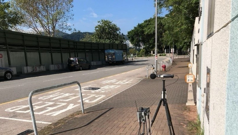 Environmental Monitoring for Subsidised Sale Flat Development at Hang Kin Street