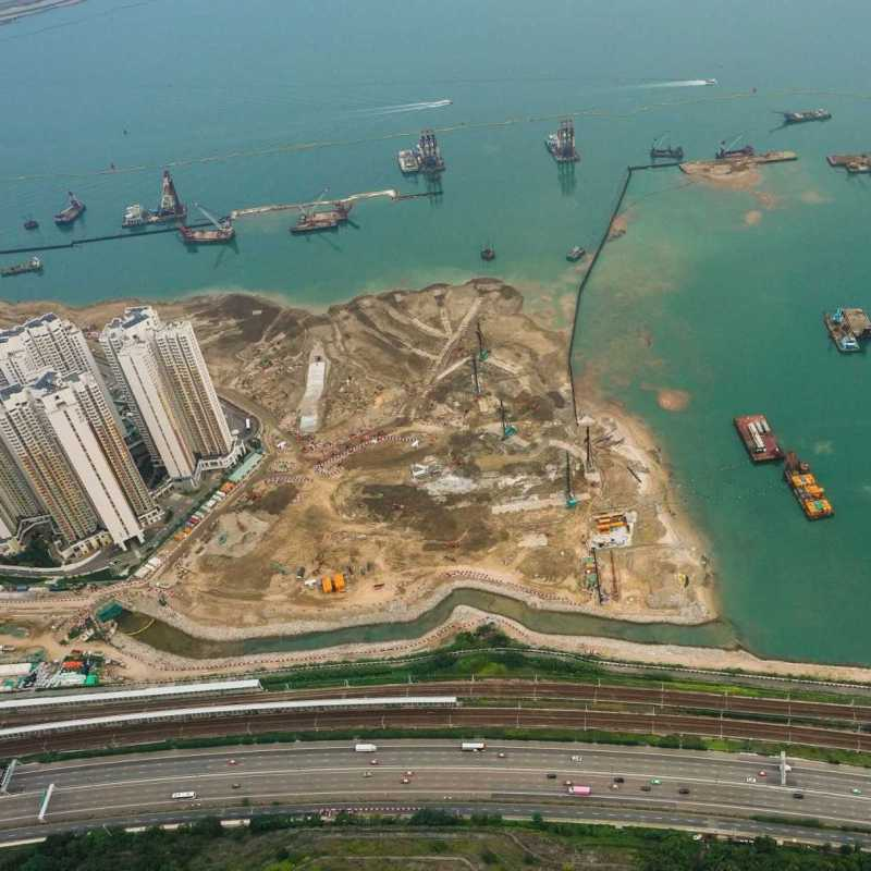 Aerial View of Tung Chung Reclamation Site_1