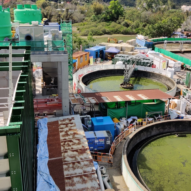 IEC for Sha Tau Kok Sewage Treatment Works